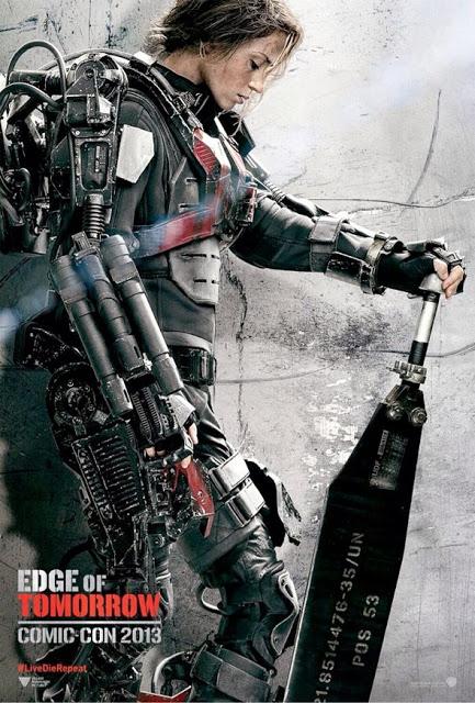 Nuevos pósters de 'Edge of Tomorrow' dedicados a Tom Cruise y Emily Blunt