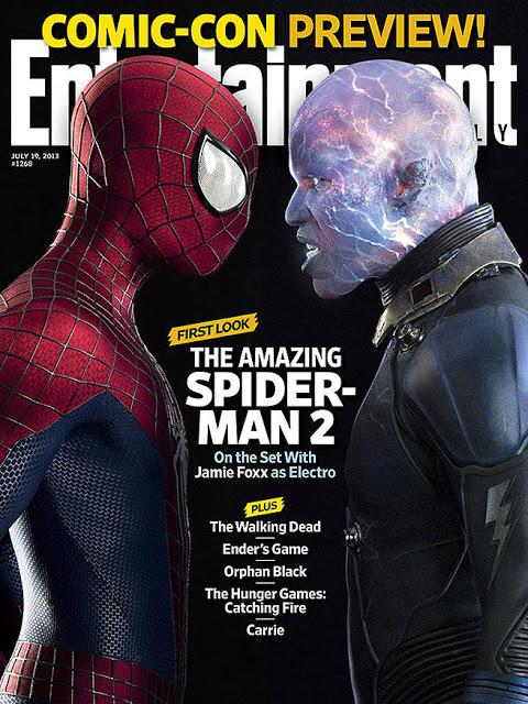 Primera foto oficial de Jamie Foxx como Electro en 'The Amazing Spider-Man 2'