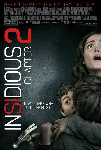 Nuevo póster y clip de vídeo de 'Insidious: Capítulo 2'
