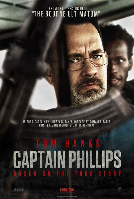 Dos nuevos pósters de 'Capitán Phillips', con Tom Hanks