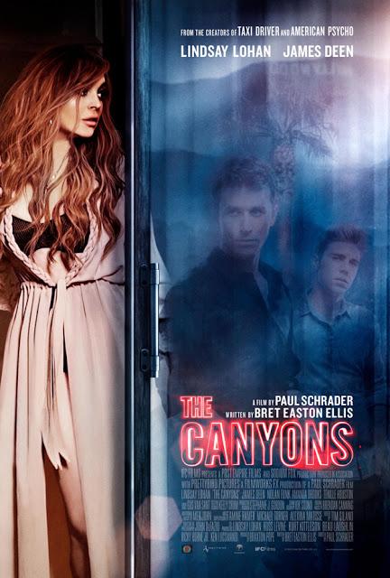Póster oficial de 'The Canyons', con Lindsay Lohan y James Deen