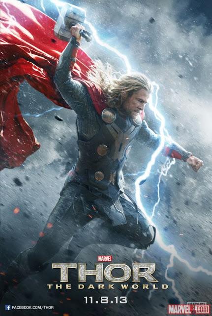 Pósters individuales de 'Thor: El mundo oscuro' dedicados a Thor y Loki