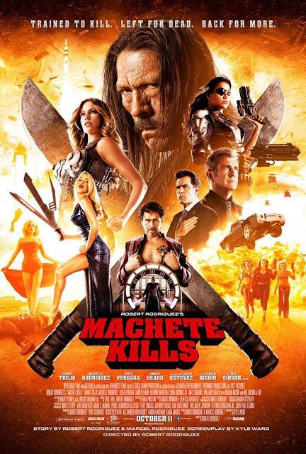 Póster internacional de 'Machete Kills'