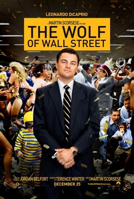 Las fiestas de 'El lobo de Wall Street' en sus dos nuevos pósters