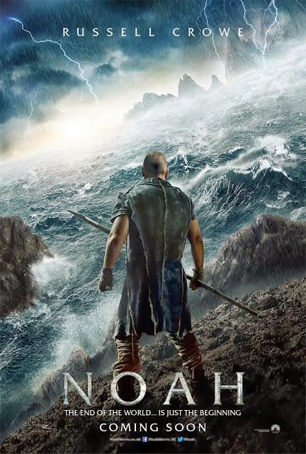 Primer póster oficial y avance del tráiler de 'Noé', con Russel Crowe