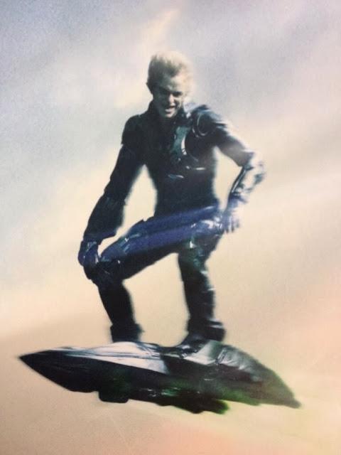 Imagen más detallada del Duende Verde en el póster de 'The Amazing Spider-Man 2'