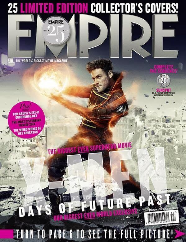 Multitud de portadas de 'X-Men: Días del futuro pasado' para la revista Empire (Actualizado)