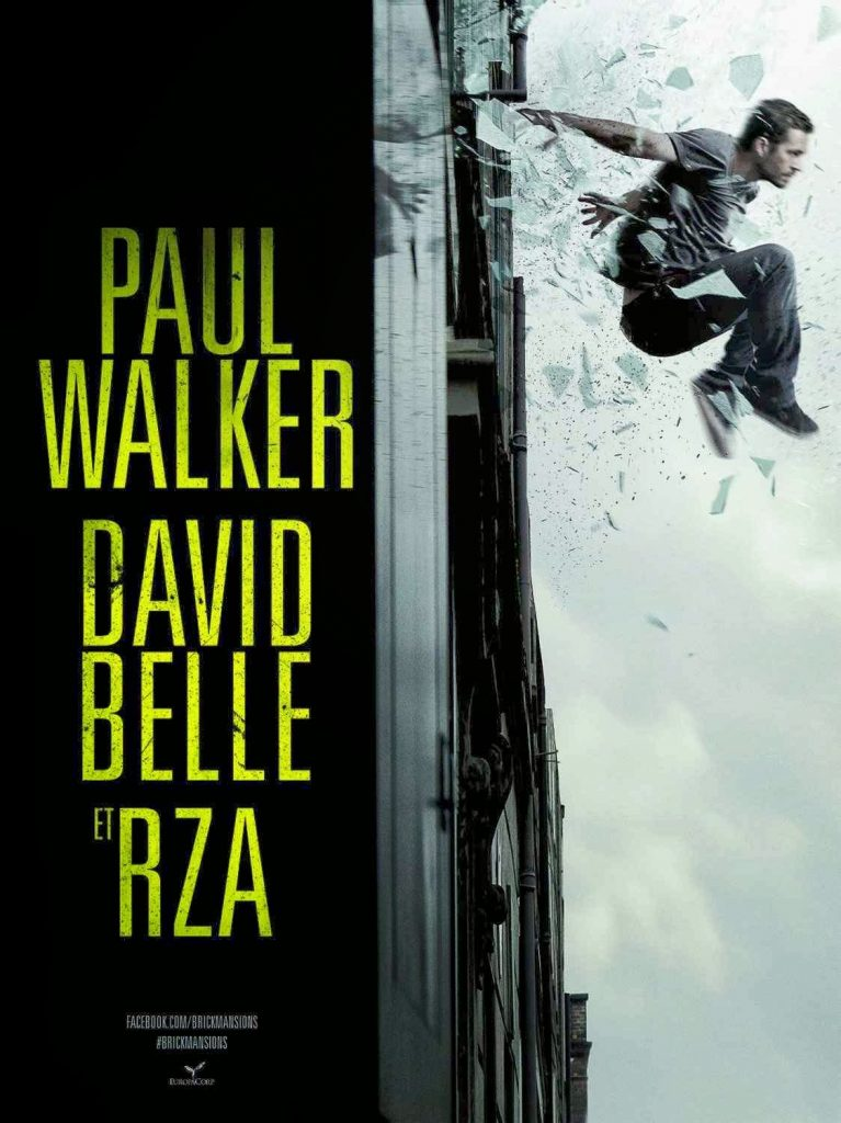 Poster internacional de 'Brick Mansions', remake de 'Distrito 13' con Paul Walker