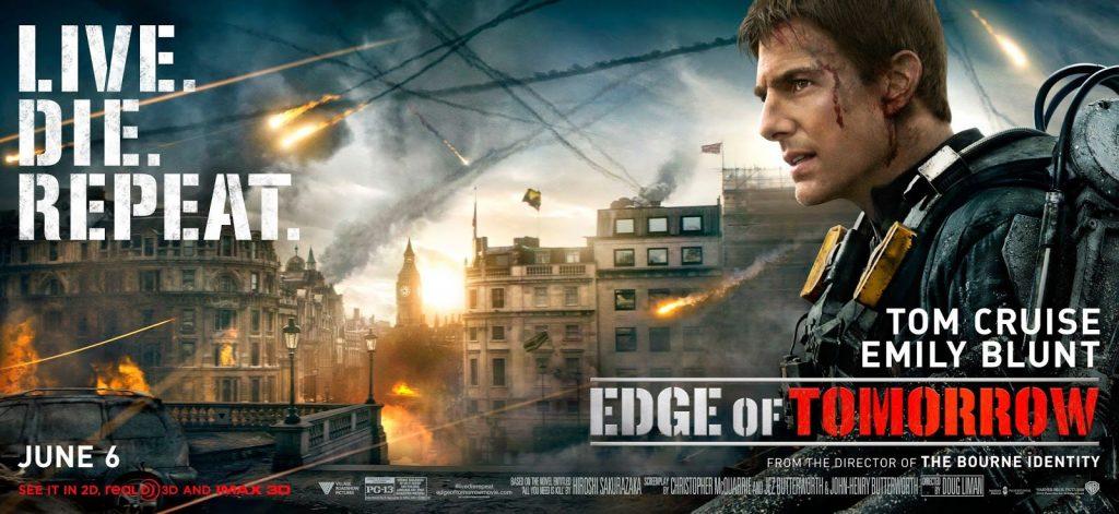 Remesa de banners de 'Al filo del mañana', con Tom Cruise y Emily Blunt