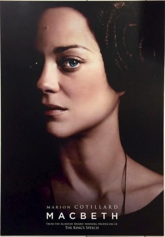 Primeros pósters de 'Macbeth', con Michael Fassbender y Marion Cotillard