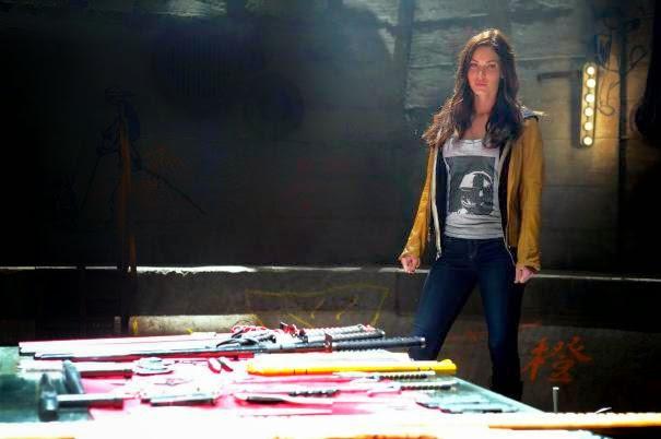 Nuevas imágenes de Megan Fox como April O'Neil en 'Ninja Turtles'