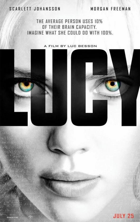 Póster de 'Lucy', con Scarlett Johansson, que adelanta la fecha de estreno