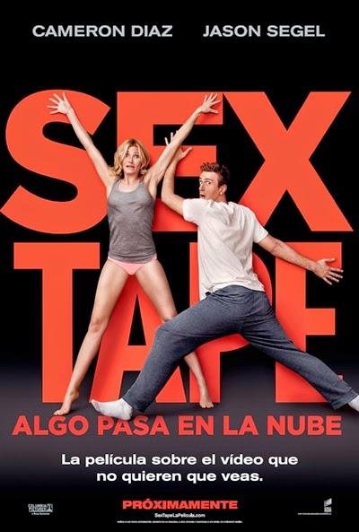Póster y tráiler español de 'Sex Tape: Algo pasa en la nube'