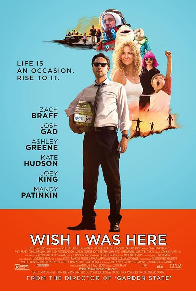Nuevo poster del segundo trabajo de Zach Braff 'Wish I was here'