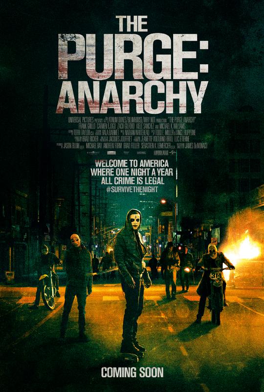 Segundo tráiler y póster de 'The Purge: Anarchy'
