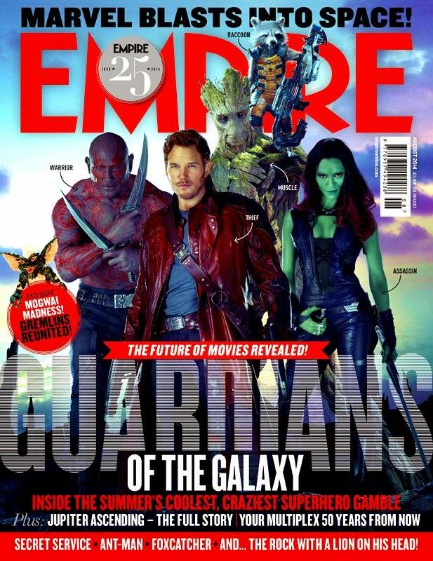 Empire dedica dos portadas a 'Guardianes de la galaxia', que contará con cameo de Nathan Fillion