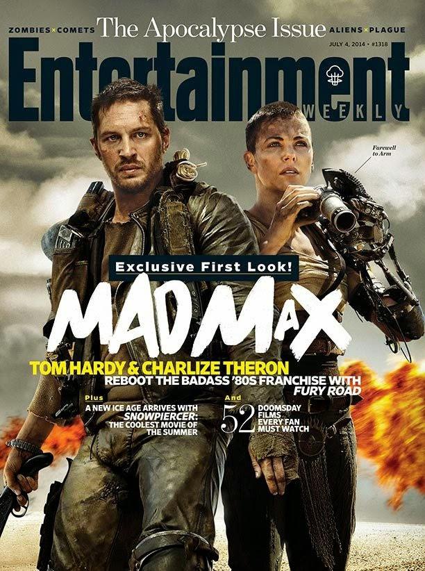 Primeras imágenes de 'Mad Max: Fury Road', que ocupa la portada de Entertainment Weekly