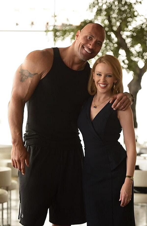 Kylie Minogue se une a Dwayne Johnson en 'San Andreas'