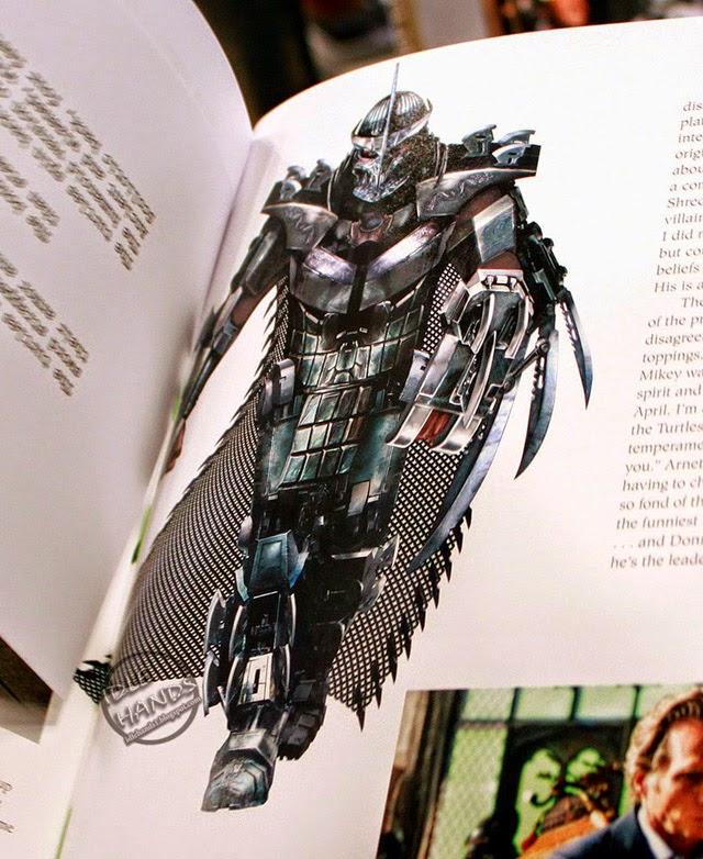 Imágende de arte conceptual de 'Ninja Turtles' que revelan aspecto de Splinter y Shredder