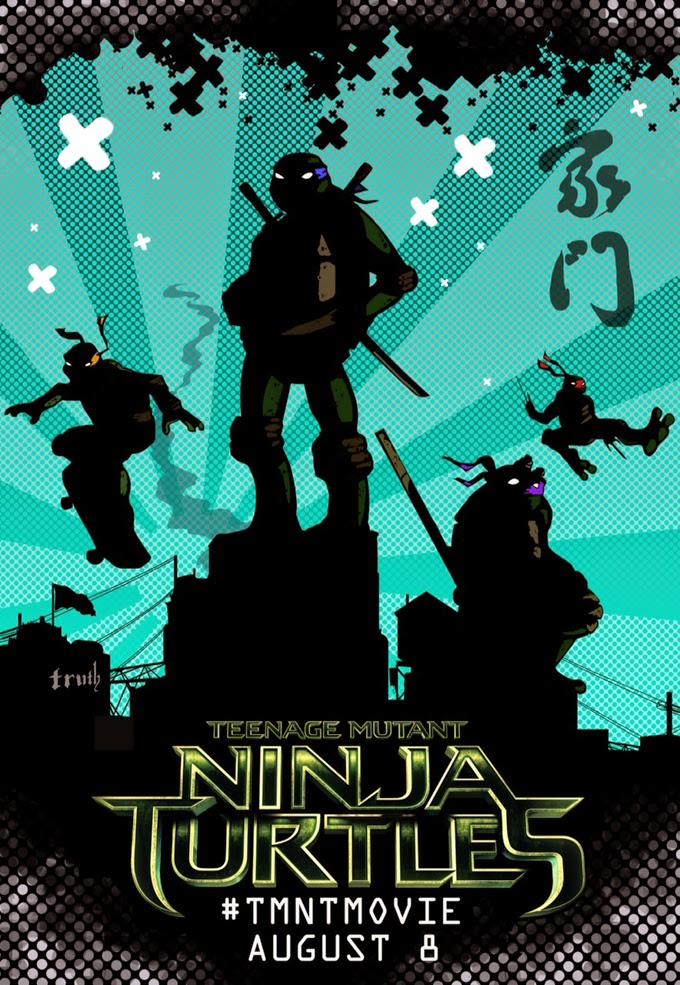 Seis nuevos y curiosos pósters de 'Ninja Turtles'