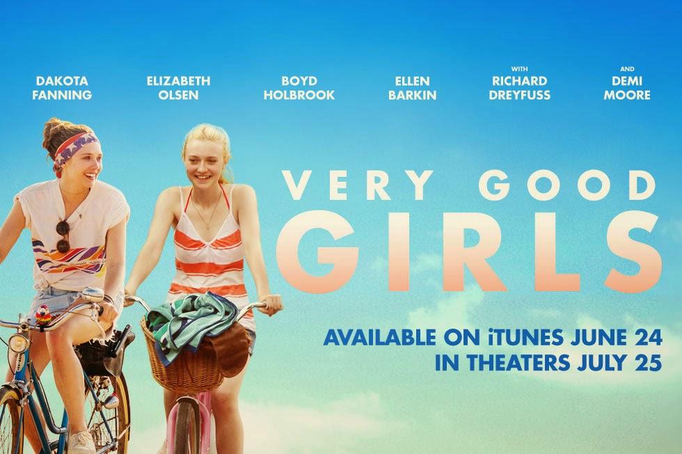 Póster y tráiler de 'Very Good Girls', con el primer desnudo de Dakota Fanning