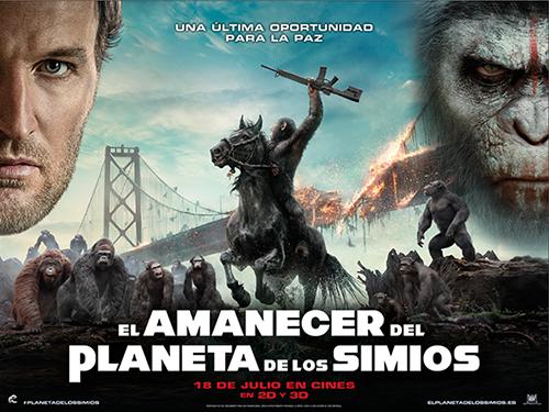 finalizado y actualizado concurso uel amanecer del planeta de los simiosu gana una camiseta y una chaqueta de la pelcula no es cine todo lo que reluce