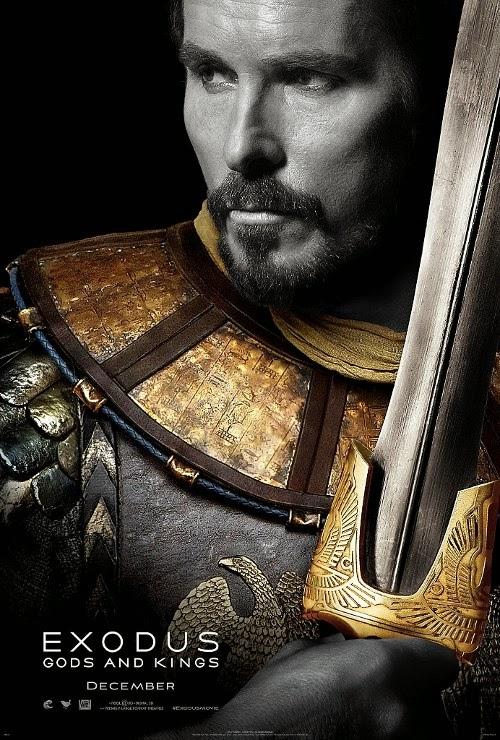Publicados los primeros pósters de 'Exodus: Gods and kings'