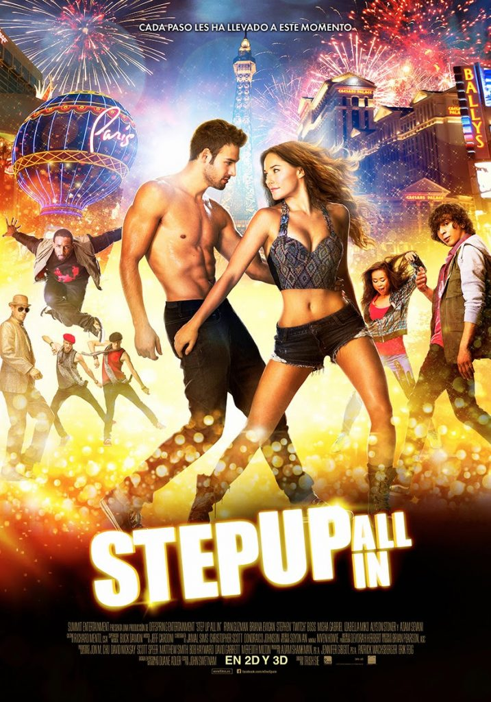 Póster y tráiler español de 'Step Up All in'