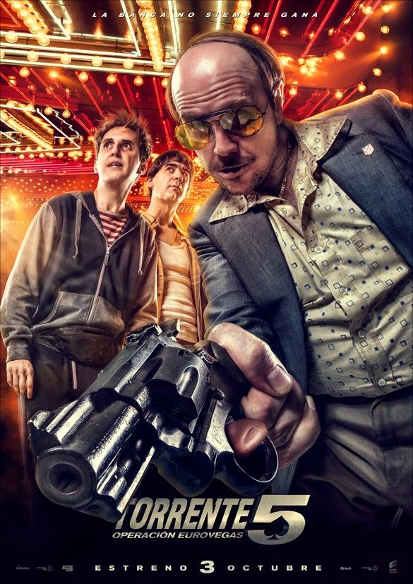 Segundo téaser póster de 'Torrente 5. Operación Eurovegas'