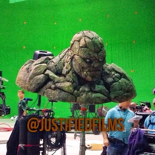 Posible primera imagen filtrada de La cosa en 'Fantastic four'
