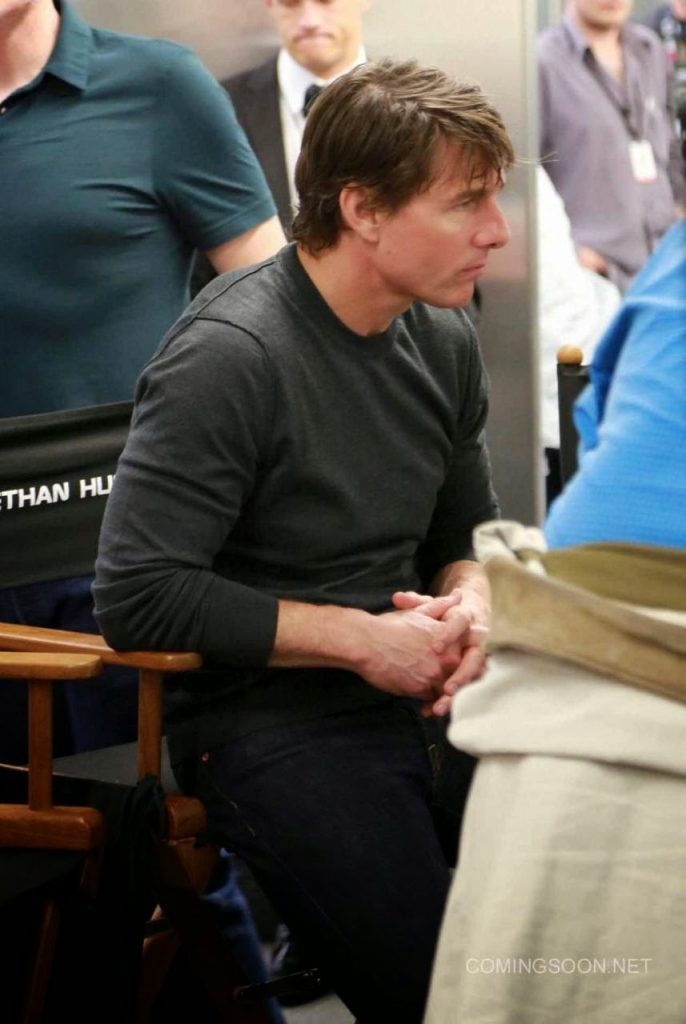 Primeras fotos de Tom Cruise en el rodaje de 'Mission: Impossible 5'