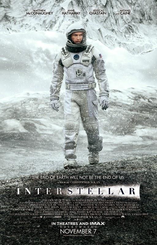 Matthew McConaughey protagoniza el nuevo póster de 'Interstellar'
