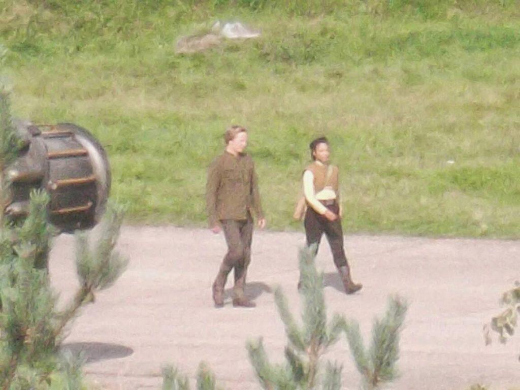 Nuevas imágenes del rodaje de 'Star wars: Episodio VII' y el spin-off de Obi Wan