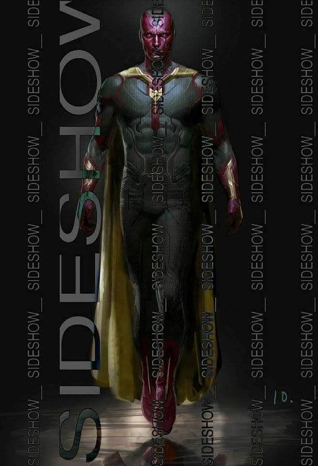 Nuevo imagen de arte conceptual de Visión en 'Avengers: Age of Ultron'