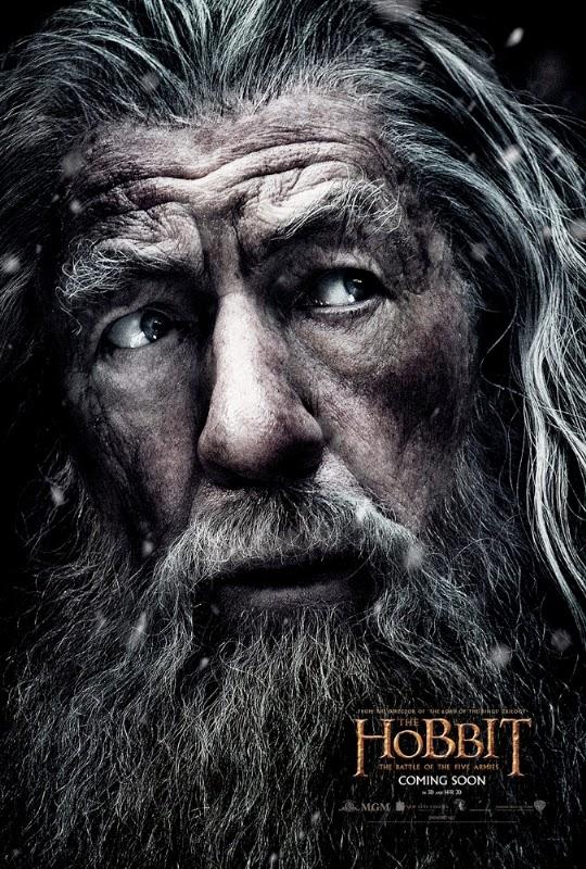 Gandalf protagoniza el nuevo póster de 'El Hobbit: La batalla de los cinco ejércitos'