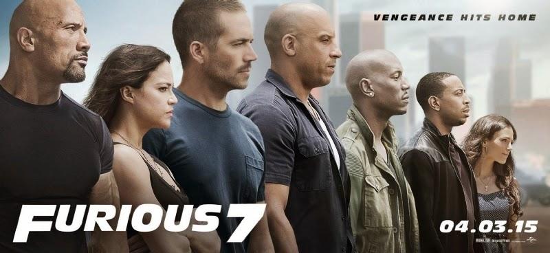Póster, título y sinopsis oficial de 'Fast & Furious 7'