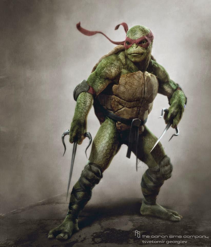 Publicado el arte conceptual de los personajes inéditos de 'Ninja turtles'