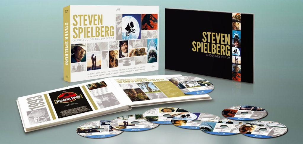 A la venta 'Steven Spielberg La Colección del Director' con películas inéditas en Blu-ray