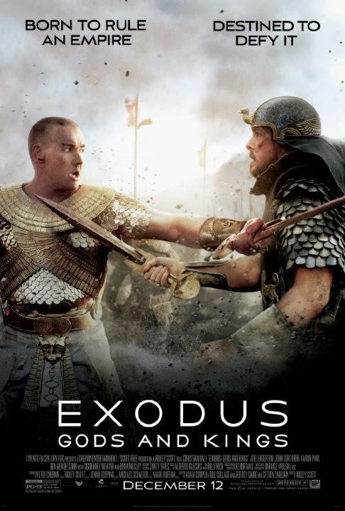 Christian Bale y Joel Edgerton protagonizan los tres nuevos pósters de 'Exodus: Dioses y reyes'