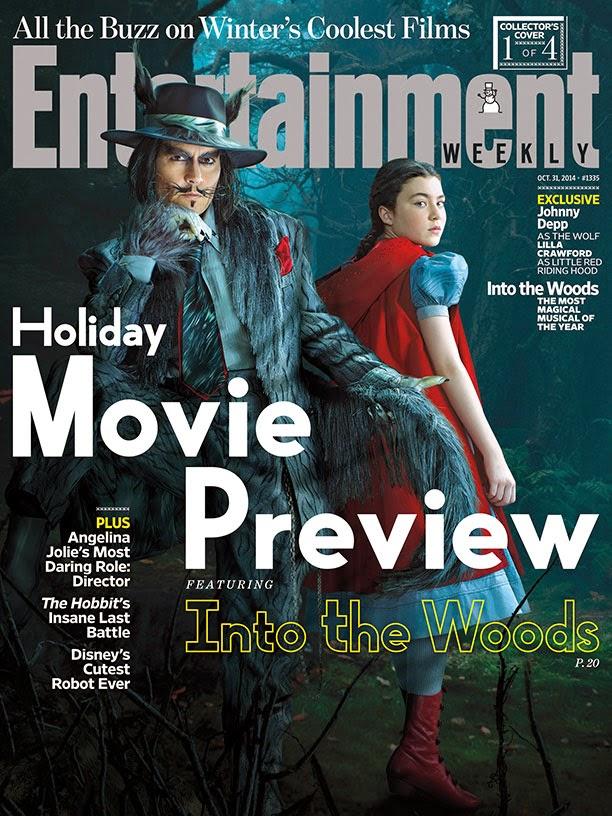Primera imagen de Johnny Depp en 'Into the Woods'