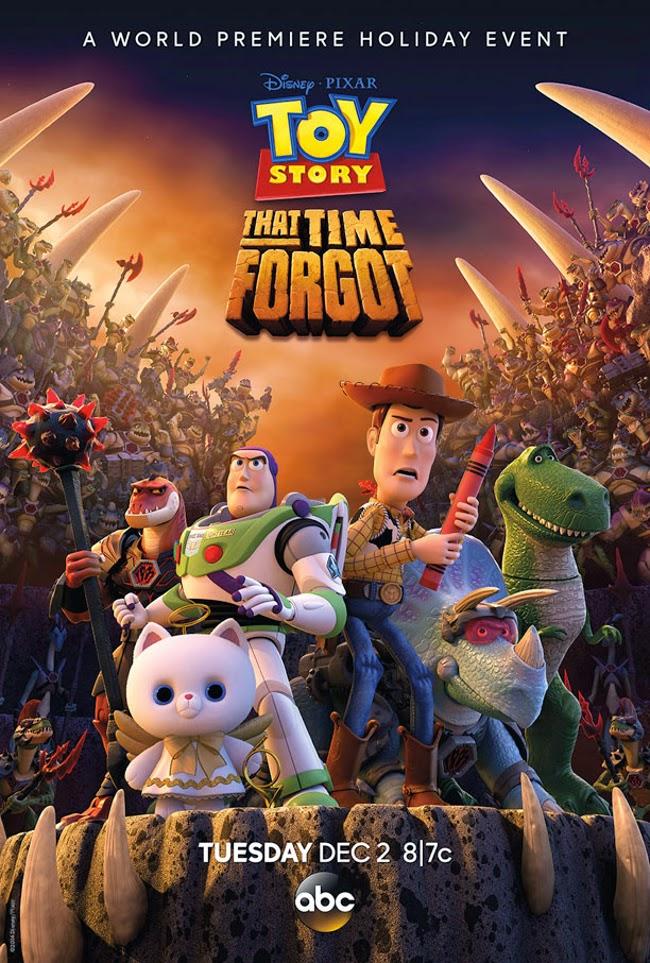 Nuevo póster de 'Toy Story That Time Forgot', el especial de Navidad de Pixar