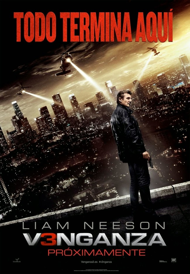 Tráiler y póster español de 'V3nganza', con Liam Neeson