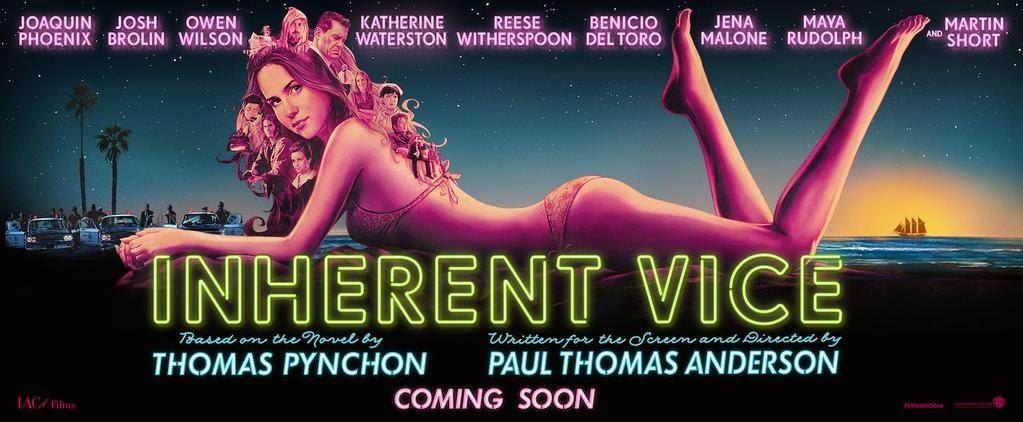 Primer banner de la nueva película protagonizada por Joaquin Phoenix 'Inherent Vice'