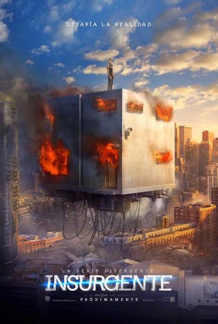 Téaser tráiler y póster español de 'La serie Divergente: Insurgente'