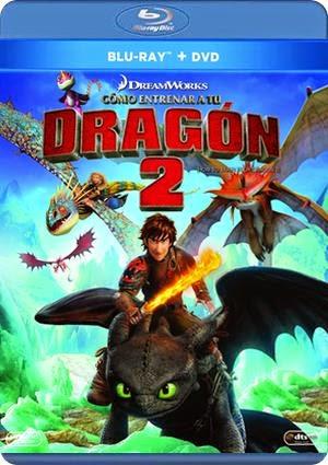 A la venta 'Cómo entrenar a tu dragón 2 en DVD, Blu-ray y Blu-ray 3D