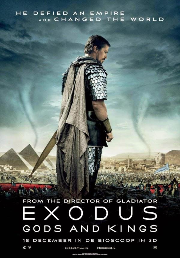 Tráiler final y nuevo póster de 'Exodus: Dioses y reyes'