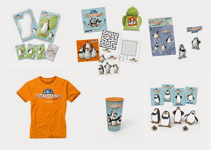 Concurso 'Los Pingüinos de Madagascar: La Película: Tenemos lotes de merchandising para vosotros