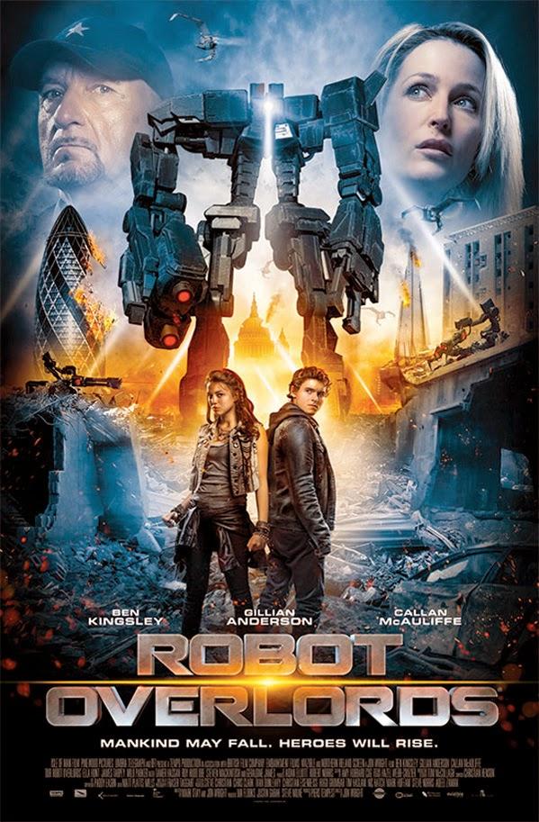 Póster y tráiler de 'Robot overlords', con Ben Kingsley y Gillian Anderson
