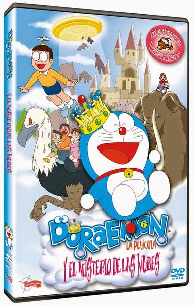 Concurso 'Stand by me Doraemon': Tenemos DVDs de 'Doraemon y el misterio de las nubes'