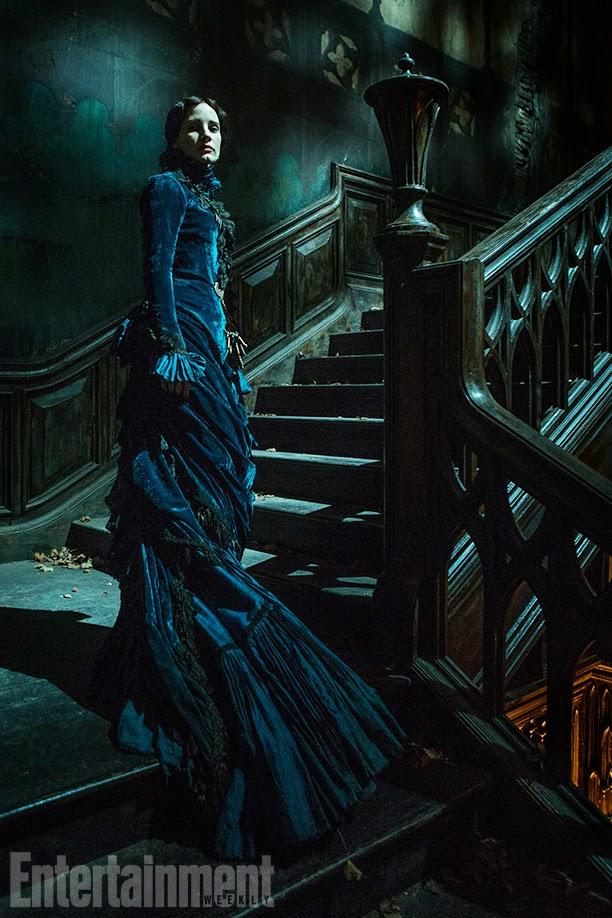 Primeras imágenes de 'Crimson Peak', de Guillermo Del Toro